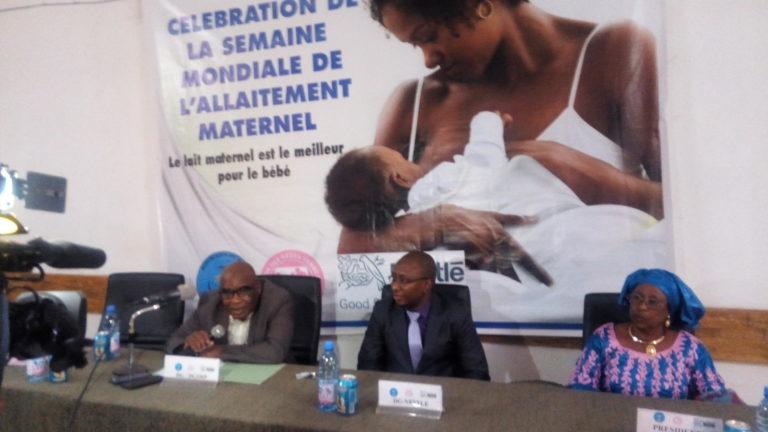 SEMAINE MONDIALE DE L'ALLAITEMENT MATERNEL: Le groupe Nestlé soutient l'Association des Sages-femmes du Mali et la Direction Générale de la Santé et de l'Hygiène Publique   dans la promotion du lait maternel