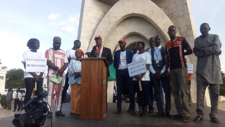 Plateforme de lutte contre la Corruption et le Chômage: le soleil de la dignité est né,  le Mali que nous espérons commence à naître