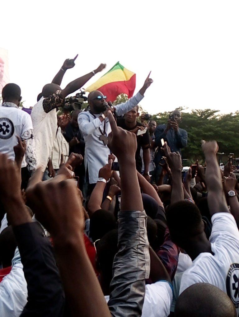 LUTTE ANTI-IMPÉRIALISTE: démonstration de force de l'ONG Urgences Pan-africanistes