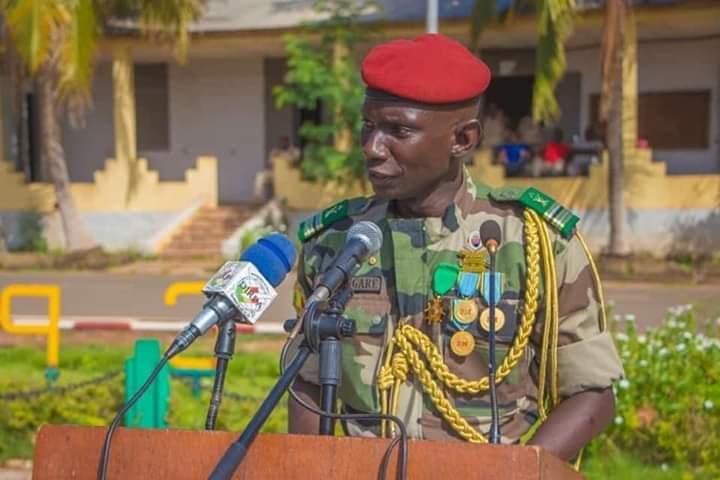 33ÈME RCP : Le Lieutenant-Colonel Moustapha Sangaré prend les commandes