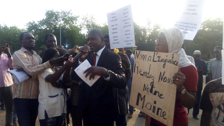 BAMAKO : Le Collectif des amis du Maire Adama Sangaré propose l'option contrôle judiciaire