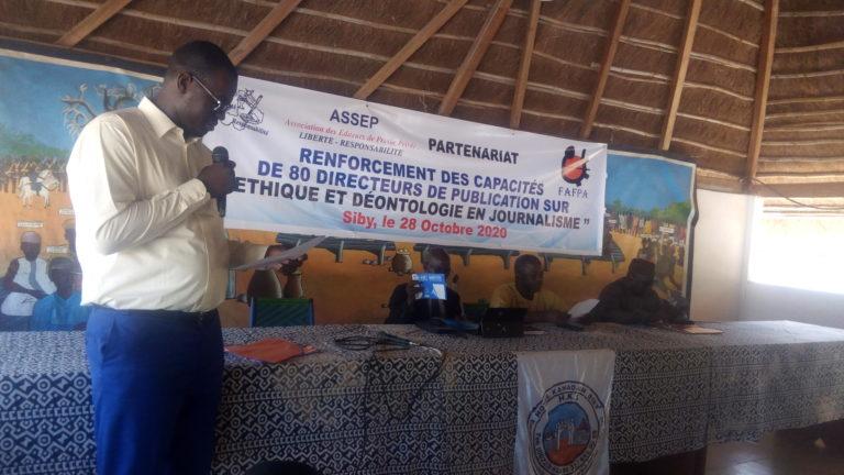 Partenariat ASSEP – FAFPA: A Siby des patrons de presse écrite se remémorent sur l'éthique et la déontologie en journalisme