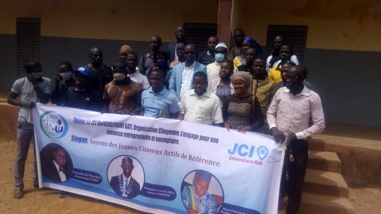 Centre de Formation Professionnelle des Femmes de Kambila: la JCI U-Kati prône un partenariat fécond à la jeunesse de la Commune Rurale de Kambila