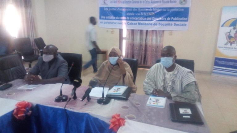 Journée d'information des hommes de médias sur la protection sociale: Le CCDP réalise la première édition en partenariat avec la CMSS