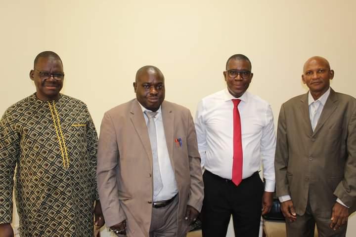MESRS : Les responsables du SNESUP reçus par le Pr. Amadou Keita