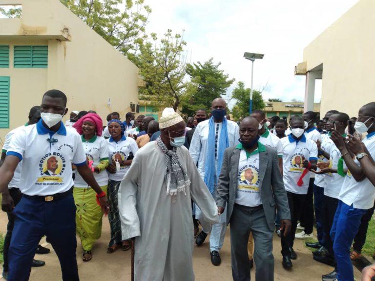 Cercle de Niono: Moussa Maraglorieusement accueilli et félicité par la population