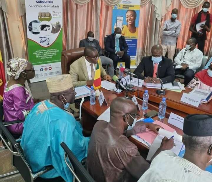 CENOU : La 22ème session du Conseil d'administration présidée par le ministre Amadou Keita vise le confort des étudiants