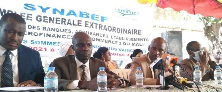 Assemblée Générale extraordinaire du SYNABEF : dépôt d'un préavis de grève, le 1er octobre si jamais Madame Kane Djenéba Sall n'est pas remise dans ses droits