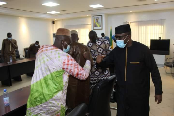 CAMES : Les candidats en Sciences Juridiques, Politiques, Économiques et de Gestion, bénéficient des sages conseils du ministre Amadou Keita