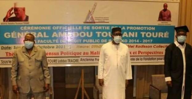 FDPU : La cérémonie de sortie de la promotion 2014-2017 présidée par le Pr. Amadou Keita