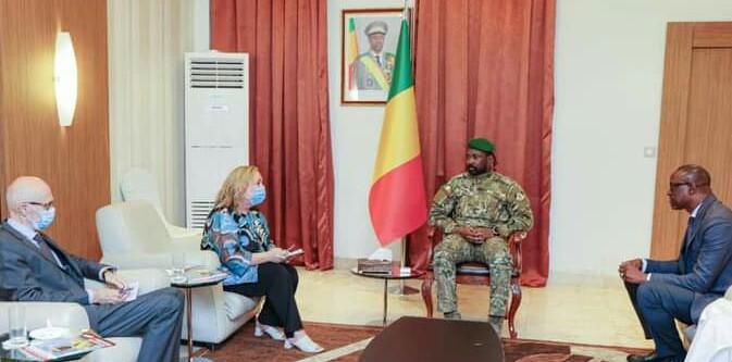 Koulouba: Audience à la Présidence de la République